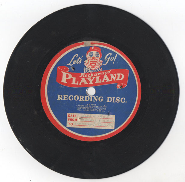 Rockaways' Playland Souvenir Record