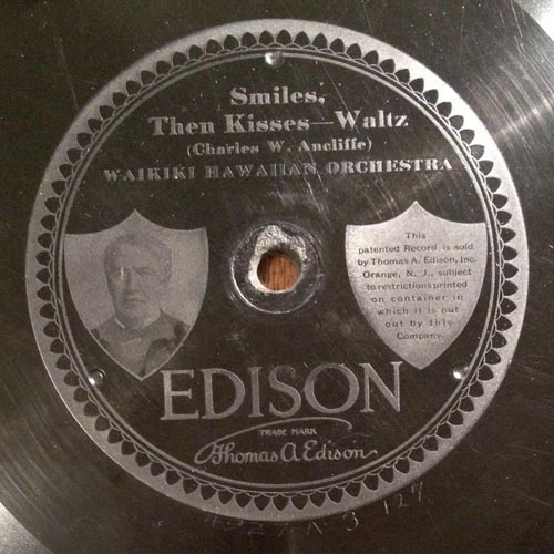 Edison Diamond Disc 1