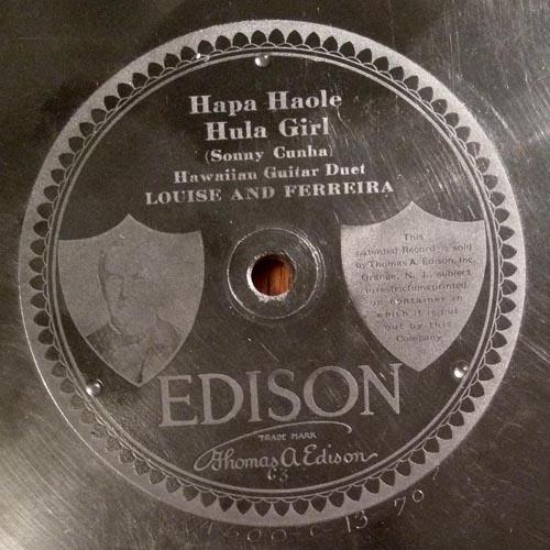 Edison Diamond Disc